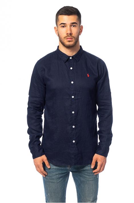 Pánská lněná košile - Moonstone e539be45c2